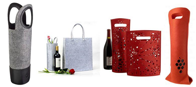 Felt Wine Bag