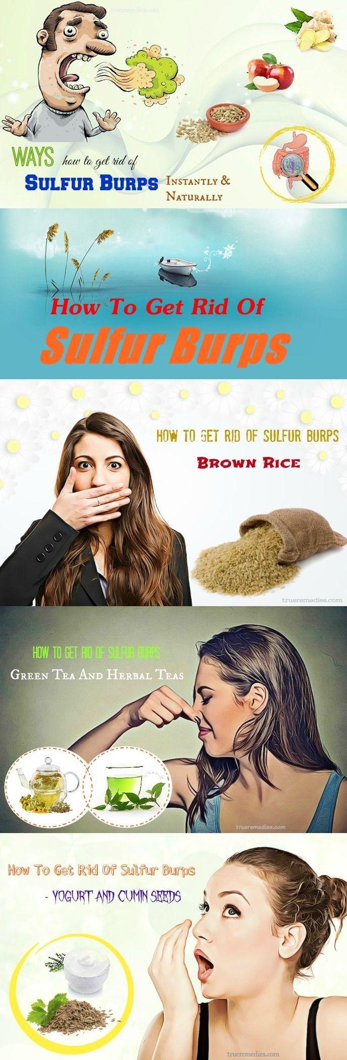 How To Get Rid Of Sulfur Burps Sulphur Burps Burp Rotten Egg