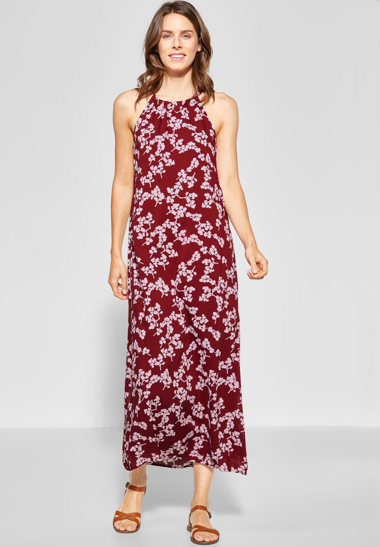 Street One Damen V-Neck Kleid mit Blumenprint NEU