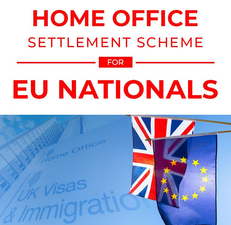 Home Office Publishes Details Of Settlement Scheme For EU