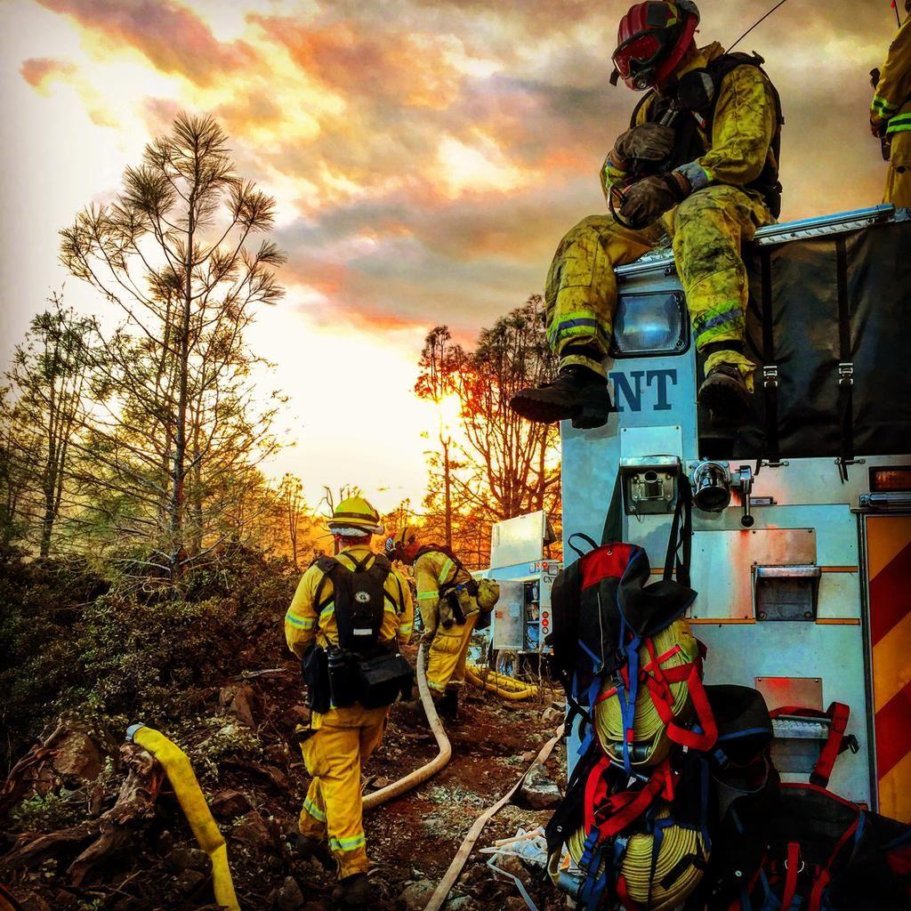 Santa Clara Co Fire on Twitter Firefighter, California