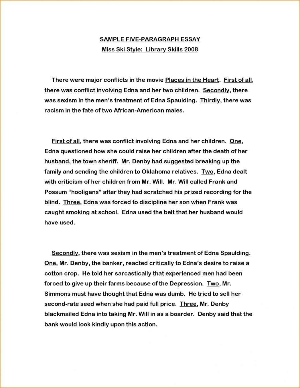 3 Paragraph Essay Example Elementary Writings And Essays Corner With 3 Paragraph Essay Example For Kids 201820003 Paragraph Essay Essay Essay Examples