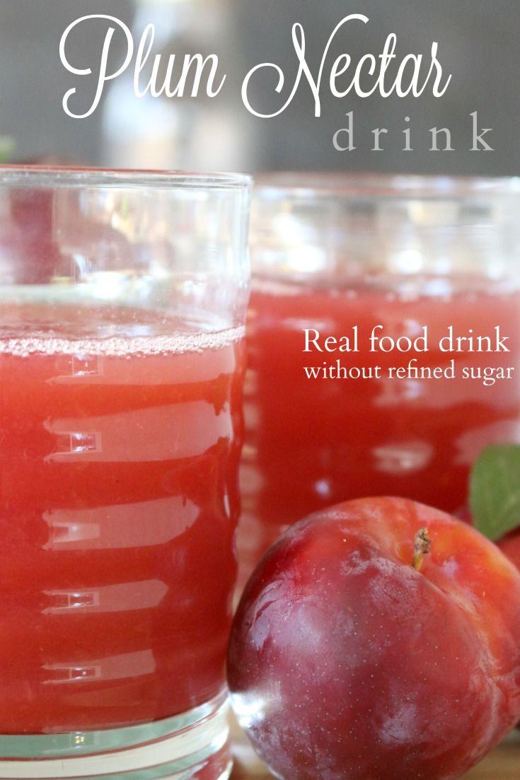Easy Plum Nectar Juice Recipe Simple Pure Beauty Recipe Nectar Recipe Juicing Recipes Drink Recipe Book