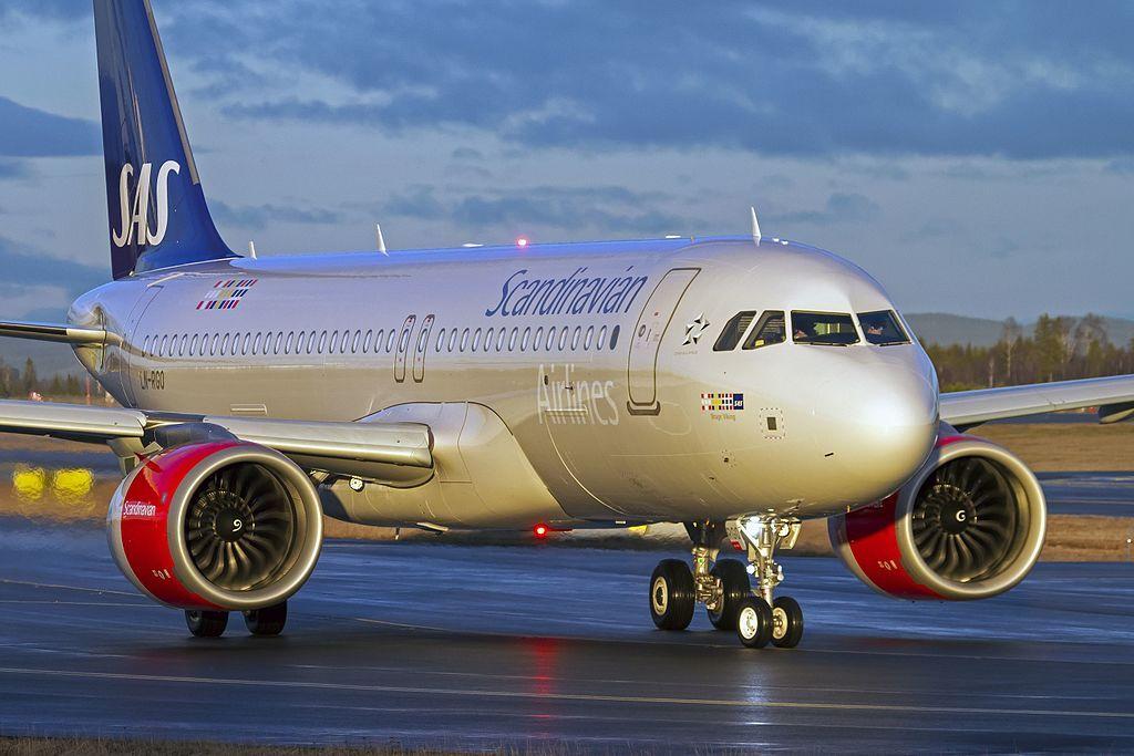 Ln Rgo A320neo 31659446490 Scandinavian Airlines Wikipedia Scandinavian Airlines System Airlines Scandinavian