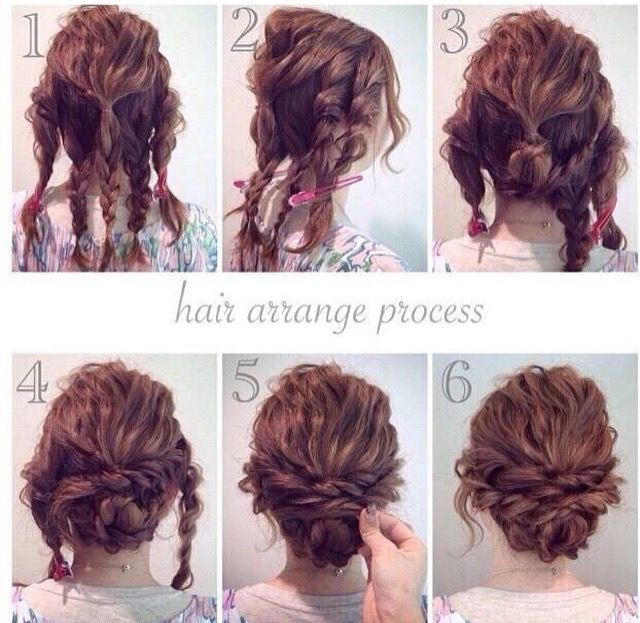 Updo That Could Work For Naturally Curly Hair