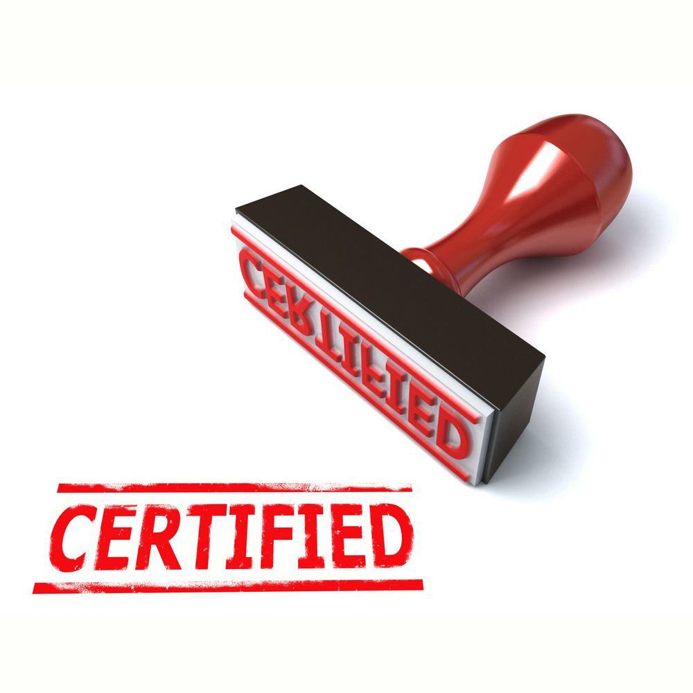 Certificate Is The Recognition Of What One Has Achieved