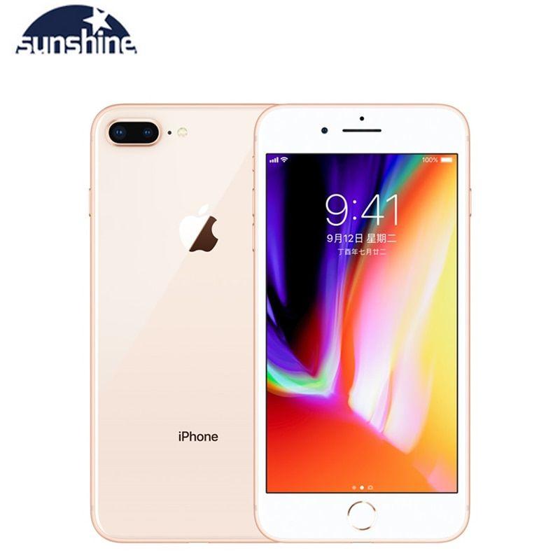Used Apple Iphone 8 Plus Unlocked Original Cell Phones 3gb Ram 64 256gb Rom 5 5 12 0 Mp Ios Hexa Core Mobile Phone In Cellphones From Cellphones Amp Telecomm
