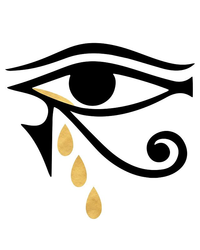 Crying Eye Symbol Clipart Library