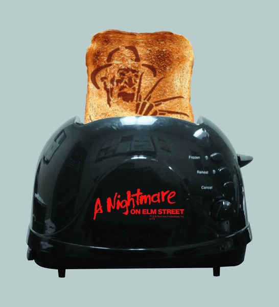 This Nightmare on Elm Street toaster 31 Creepy Items Every Horror