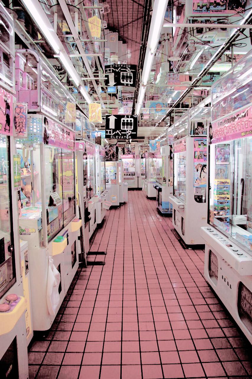 Kawaii Shop Paisaje japon, Ideas de fondos de