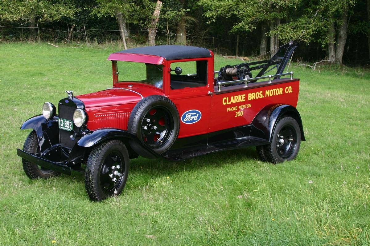 1931 ford model aa tow truck service car for sale hemmings motor news model a ford trucks. Black Bedroom Furniture Sets. Home Design Ideas