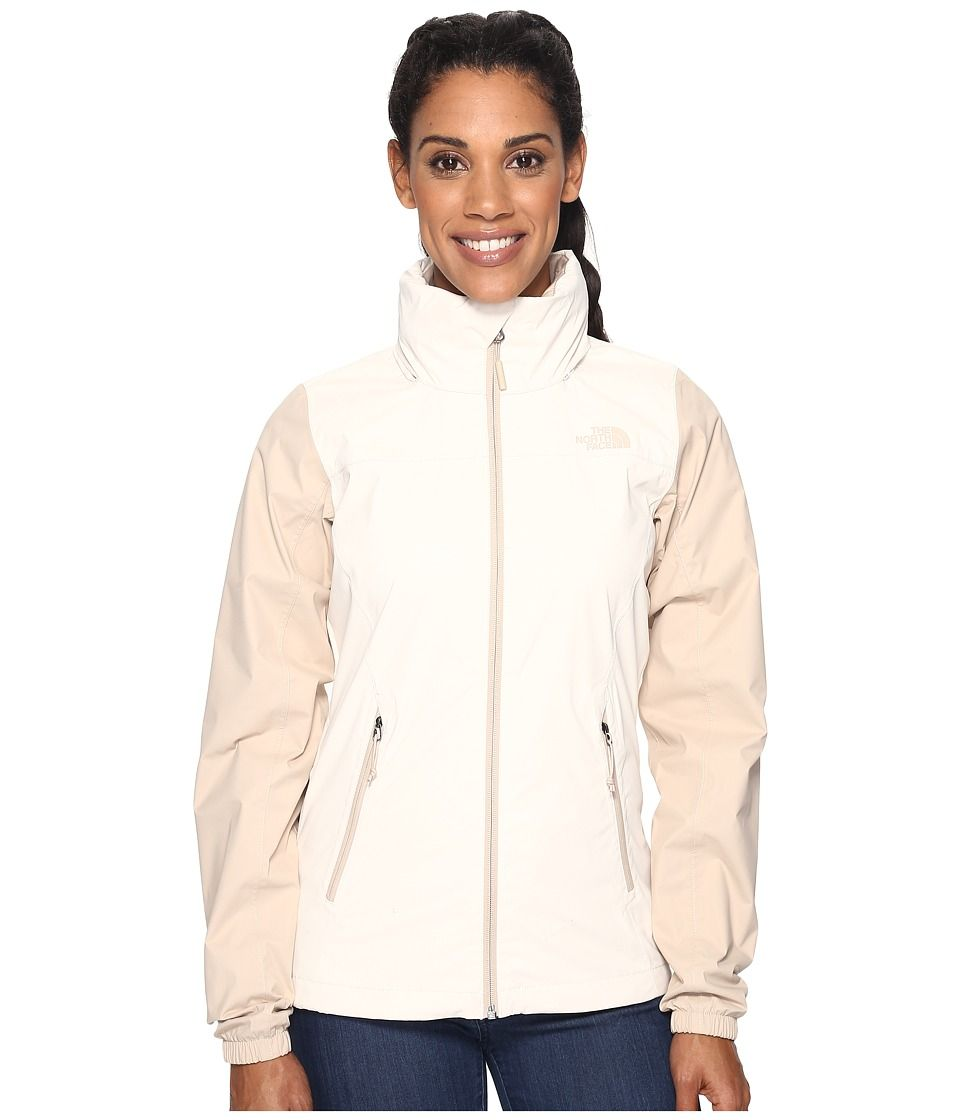 The North Face The North Face Resolve Plus Jacket Vintage White Doe Skin Brown Prior Season Women S Coat Then Jackets For Women Coats For Women Jackets [ 1120 x 960 Pixel ]