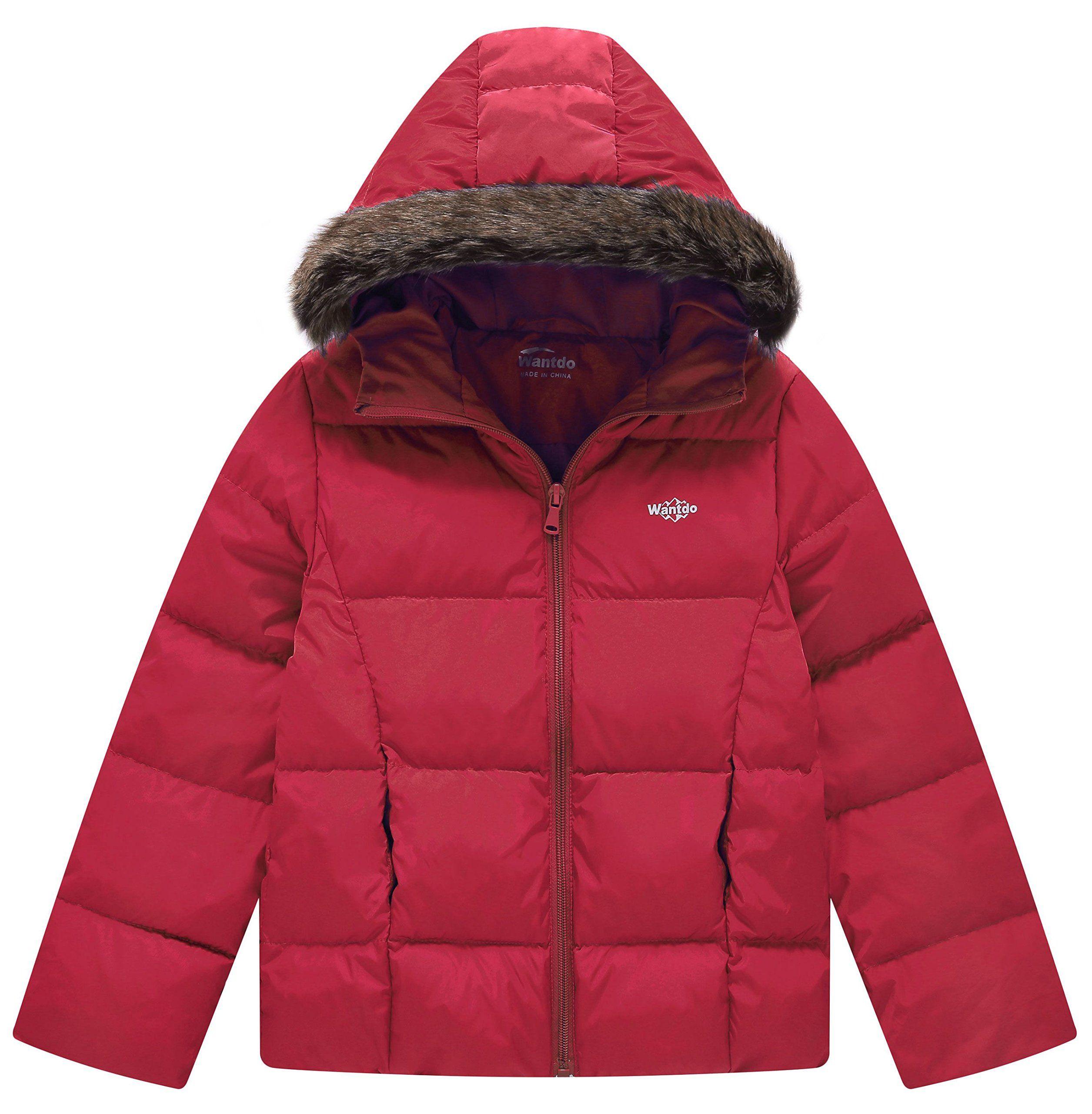 4f77c4290c4f Wantdo Boy s Light Weight Casual Winter Jacket Hooded Down Coats ...
