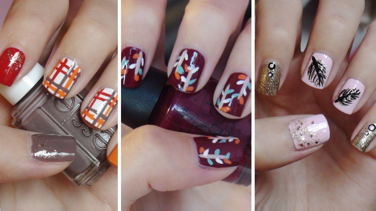 MissJenFABULOUS Fall Nail Art!!! Three Easy Designs! SHE IS.AMAZING ...