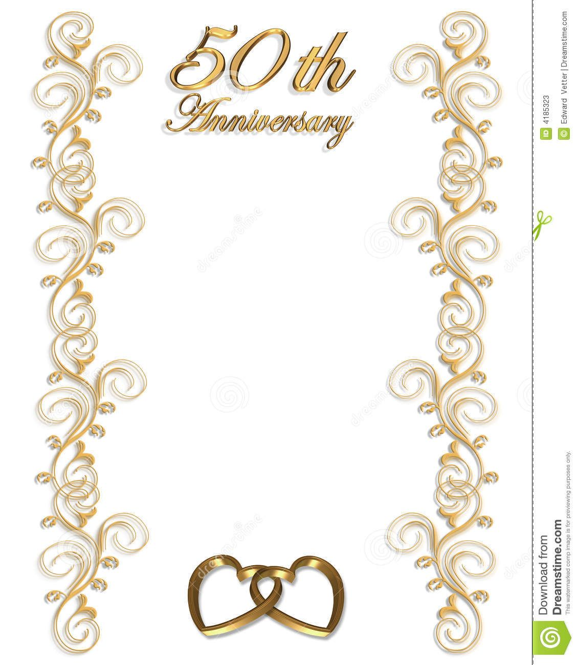 50th Anniversary Hearts Clipart - Clipart Kid | Anniversary | Pinterest