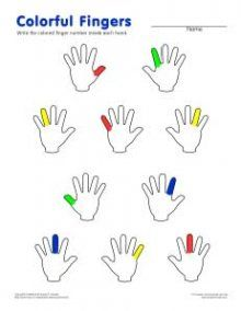 pre-reading lots of piano and notation worksheets Colorful Fingers