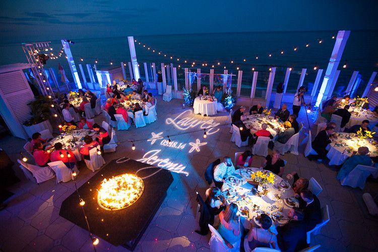 Fantastic Outdoor Wedding Reception At Oceanaire Resort Hotel Www Vacationalsvabeach