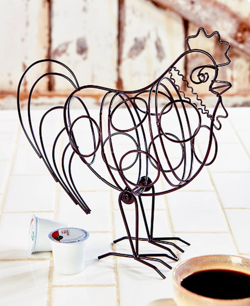 Farmhouse Kitchen Decorating Rooster Pod Holder is part of White Home Accessories Country Kitchens - 8 D x 11 H  Metal ©2017 L C L Farm House Also See In this collection Farmhouse Kitchen Countertop Pig Paper Towel Holder Rustic Farmhouse Kitchen Milk Can Measuring Cups Stackable Set Rustic Farmhouse Kitchen Decorating Pig Bowl Please allow 710 Days for delivery  Home & Garden > Kitchen & Dining > Kitchen Tools & Utensils > Measuring Cups & Spoons More In This Collection Also See In this collection Farmhouse Kitchen Countertop Pig Paper Towel Holder Rustic Farmhouse Kitchen Milk Can Measuring Cups Stackable Set Rustic Farmhouse Kitchen Decorating Pig Bowl