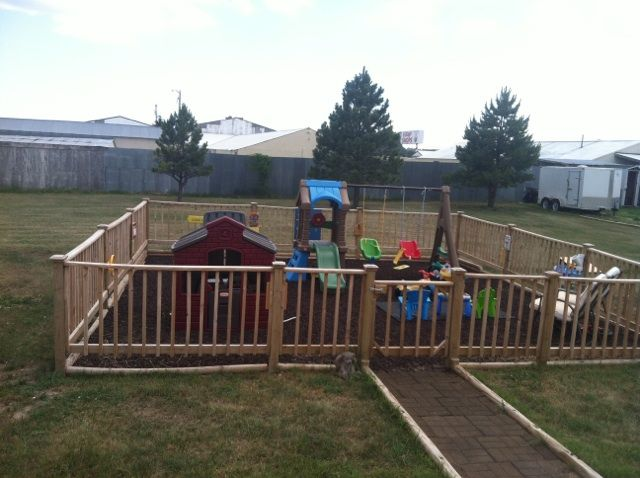 How to Make an Accessible Playground | Backyard play, Diy ...