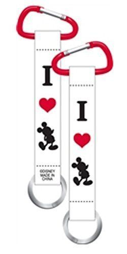Mickey Mouse Faces Lanyard Keychain Carabiner Disney