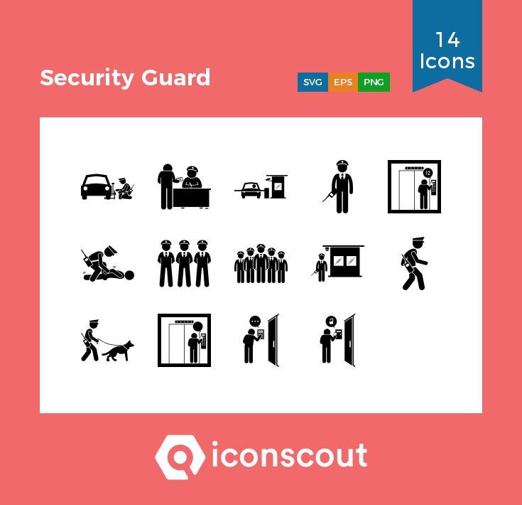 Download Security Guard Icon Pack Available In Svg Png Eps Ai Icon Fonts Icon Pack Icon Font Security Guard