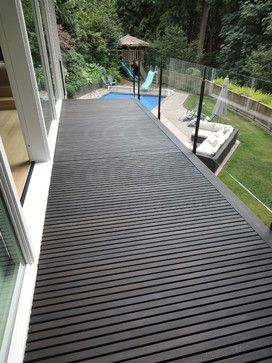 Beautiful Dark Brown Deck
