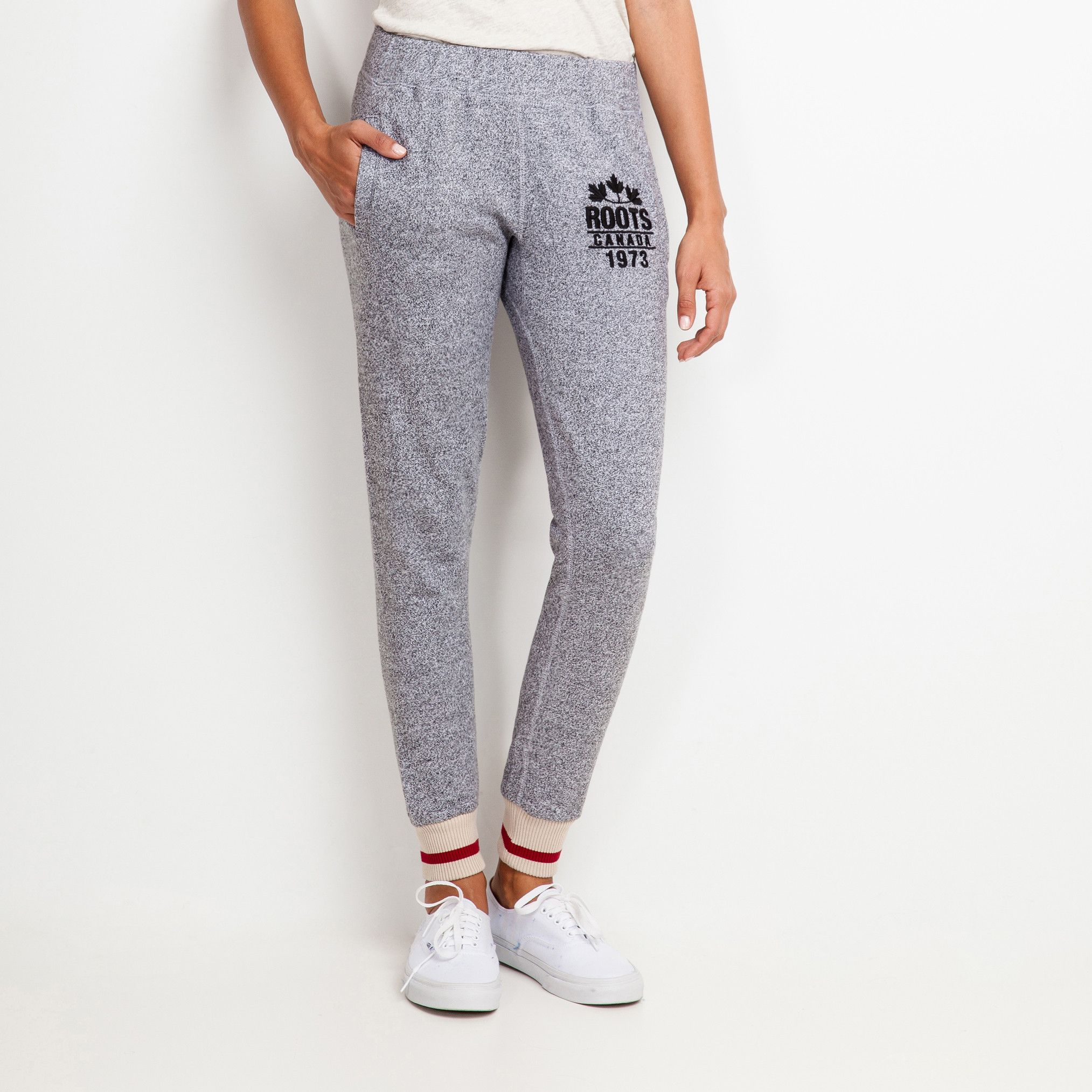 bc34fb1496fbc1 Roots Cabin Slim Sweatpant | Roots Sweatpants for Women | style ...