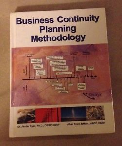 Business Continuity Planning Methodology By Akhtar Syed And Afsar
