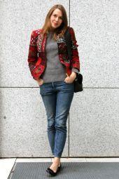 Outfit: Die Sommerjacke im Herbst - Les Mads