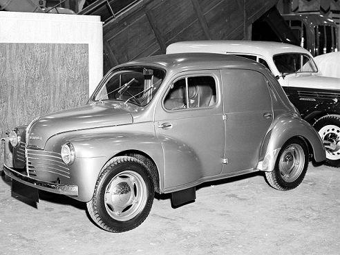Renault 4cv Commerciale 1947 1952 Motor Engine Renault Renault 4