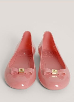 a9996b6b2f1 Tory Burch - Jelly bow-detail ballerina flats