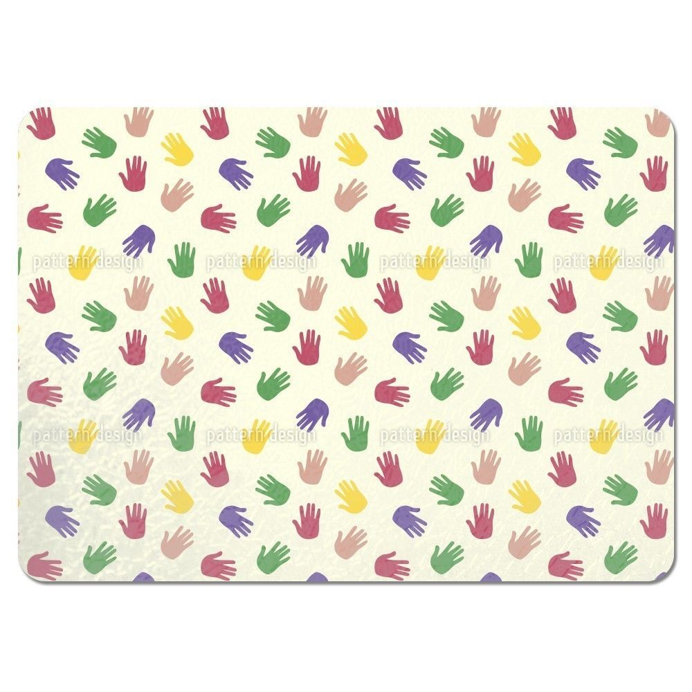 Uneekee Handprint Placemats