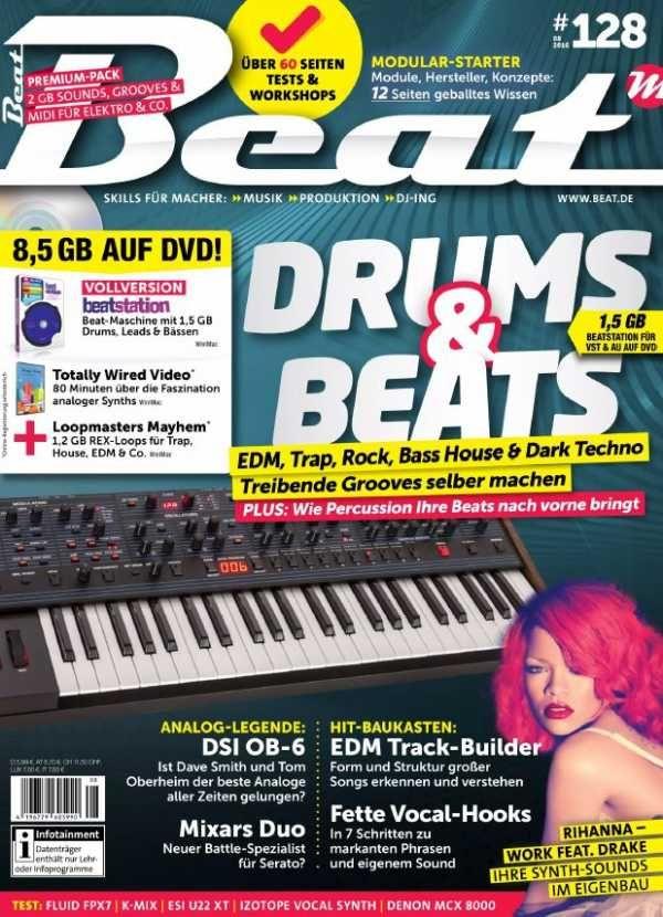 Beat Magazin - August 2016 German | 100 pages | PDF | 51 MB Ob Sie Rock, Pop, Techno, House, Trance, Trap oder Dubstep produzieren: Ein mitreißender Groo