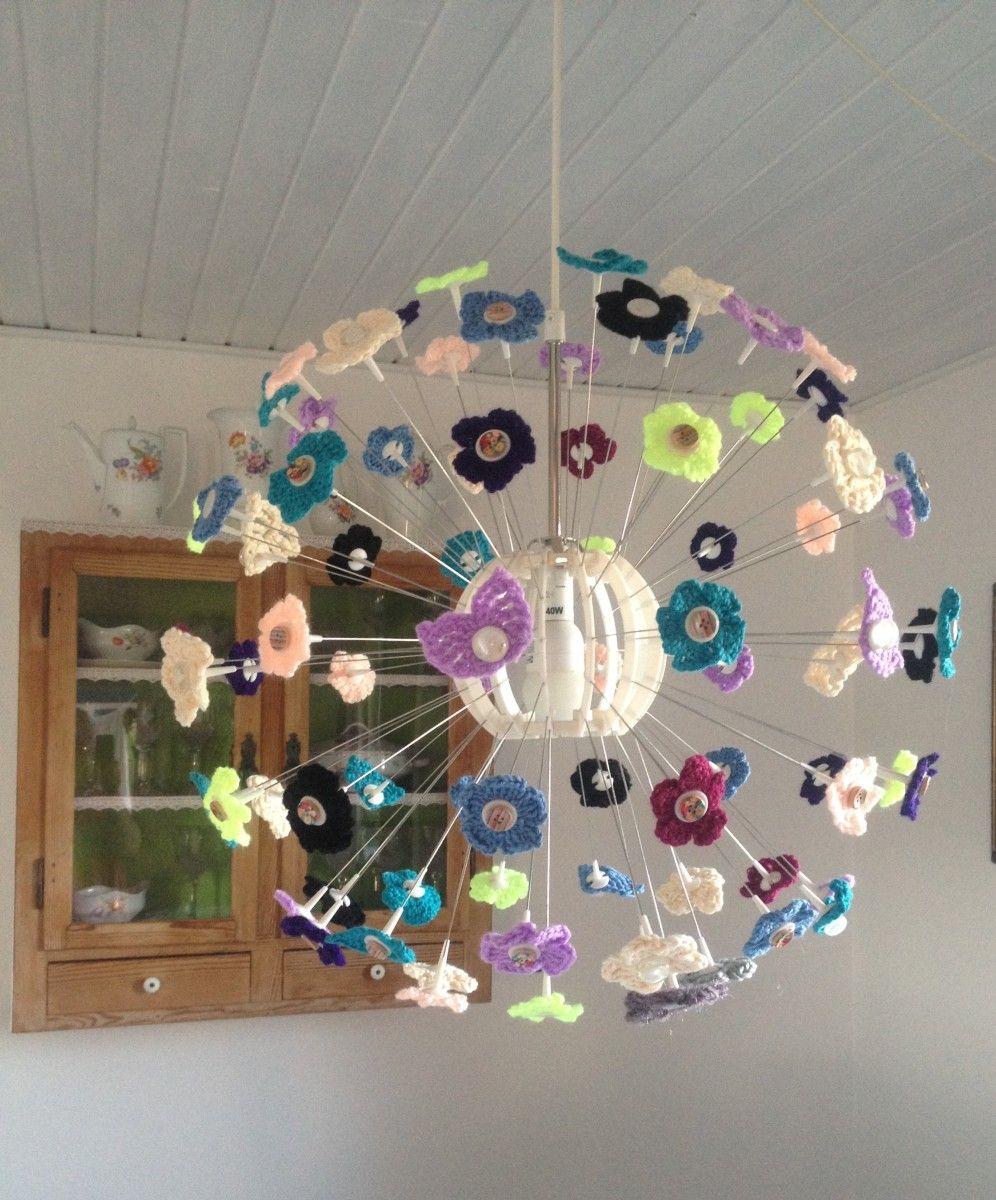 Ikea Maskros Crochet Lamp Deco Crochet Lamp Ikea Lamp