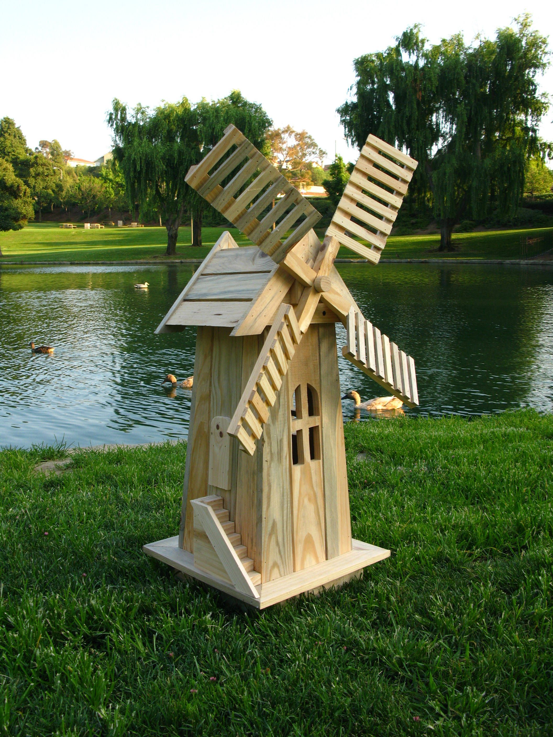 Shine Natural Cedarwood Decorative Windmill in 2020 ...