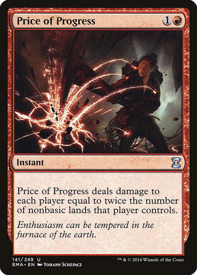 Price Of Progress Magic The Gathering Cards Magic The Gathering The Gathering