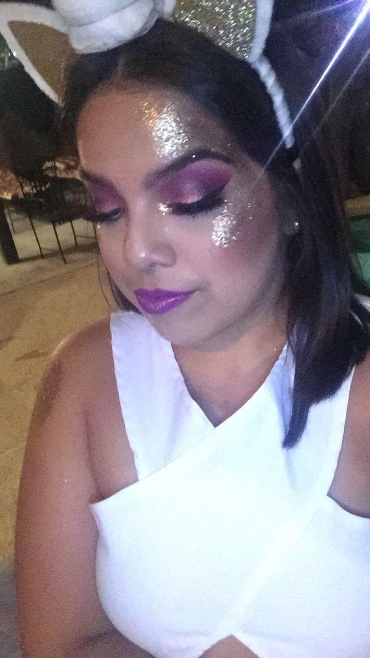 Halloween unicorn makeup!!!