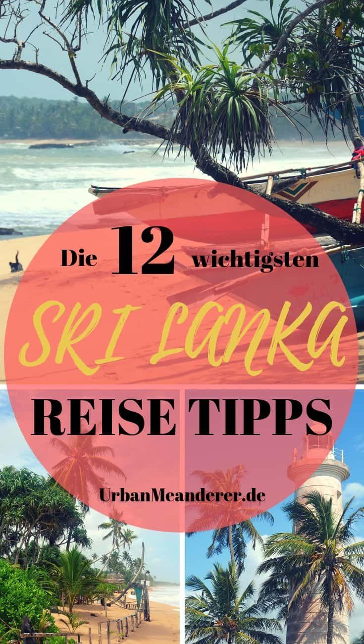 Die 12 wichtigsten Sri Lanka Tipps, die du unbedingt kennen solltest | Reiseblog Urban Meanderer