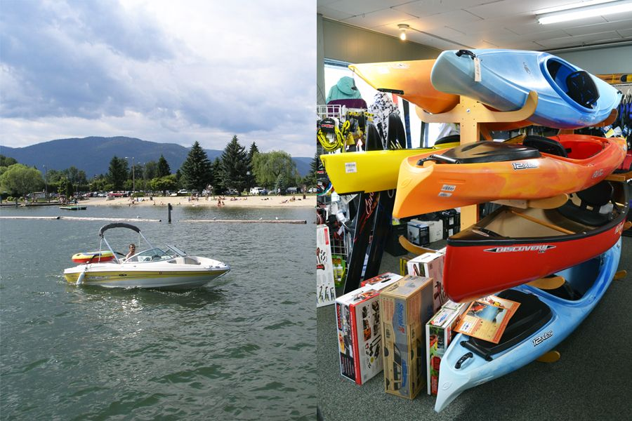 Boat Storage And Services In Sandpoint, Idaho : Alpine Shop