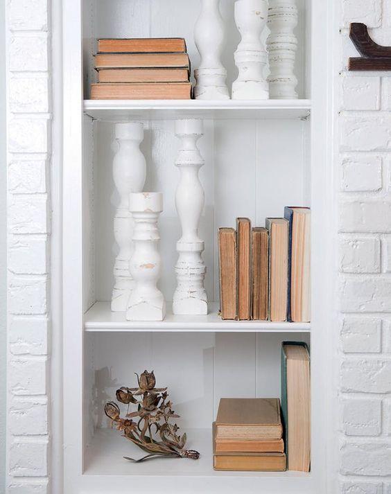 Farmhouse Bookshelf Decor Joanna Gaines