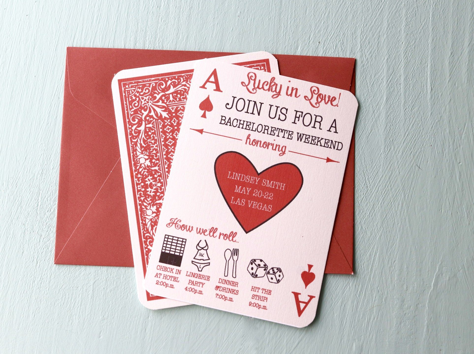 Non-Traditional Bridal Showers: 6 New Invitation Ideas -   Matching ...