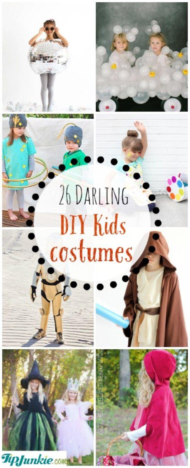 Darling DIY Kids Costumes-jpg | Naaien - verkleedkleren | Pinterest ...