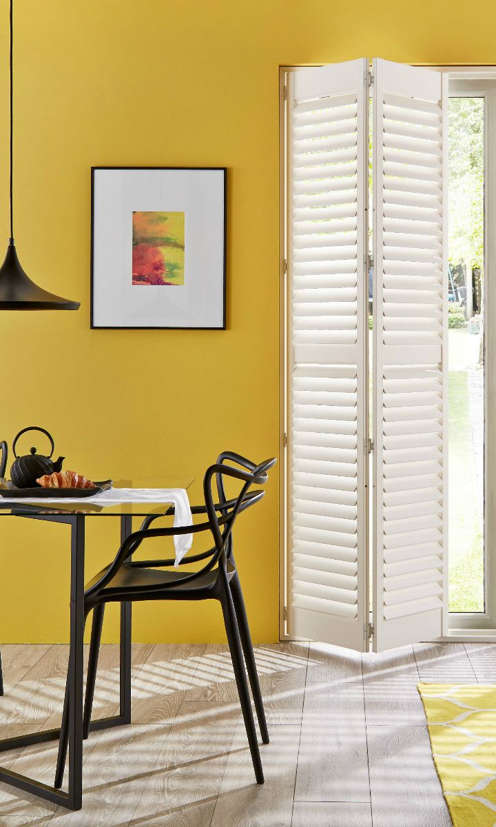 Brighten your home with shades of bright yellow add white and black
