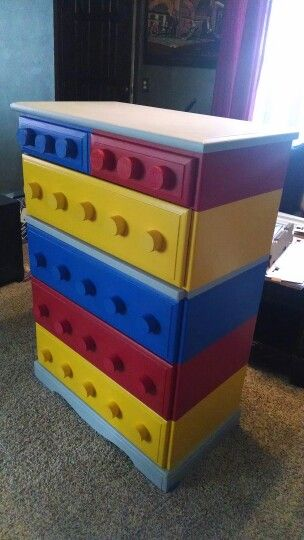 Lego Dresser Furniture In 2019 Lego Bedroom Lego Room
