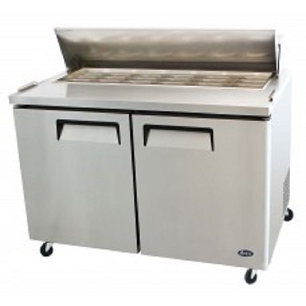 Atosa Msf8306 Commercial 48 Mega Top Sandwich Prep Table Atosa Two Door Refrigerator Commercial Catering Equipment Refrigerator Prices