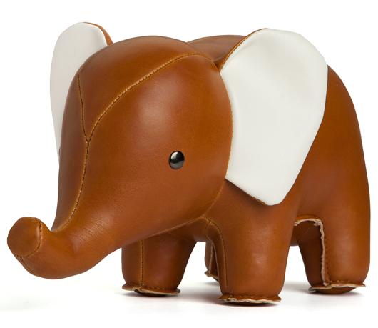 Circus Nursery, Circus, Nursery, Baby, Elephant, Leather Elephant, Book Ends
