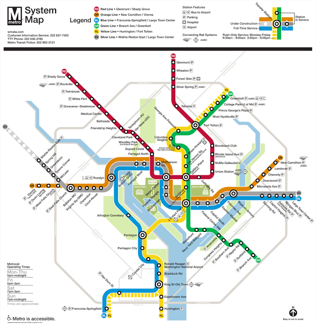 Getting Around Washington Dc With Kids On The Metro Wanna Get Away