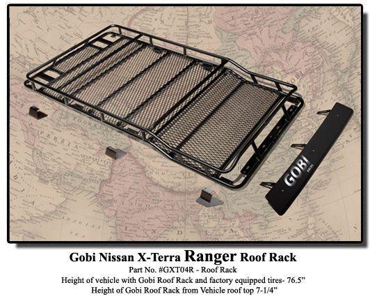 Gobi Nissan Xterra Ranger Roof Rack Amp Free Ladder 2000 14