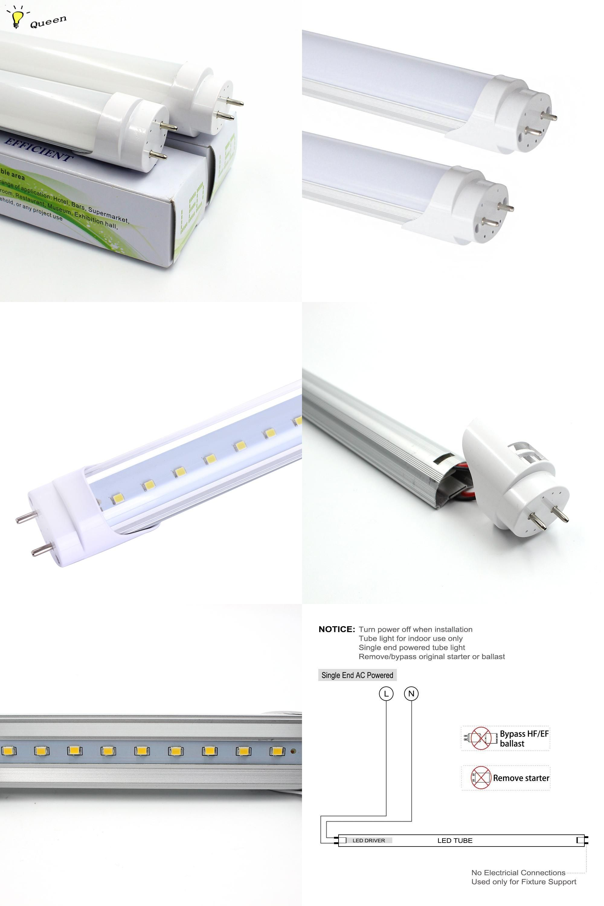 Visit To Buy Led Tube Light Bulb T8 Led Tubete 600mm Smd 2835 10w Wall Lamps 110v 220v Cold Warm White Lampada Luz Led Light Led Tube Light Tube Light T8 Led