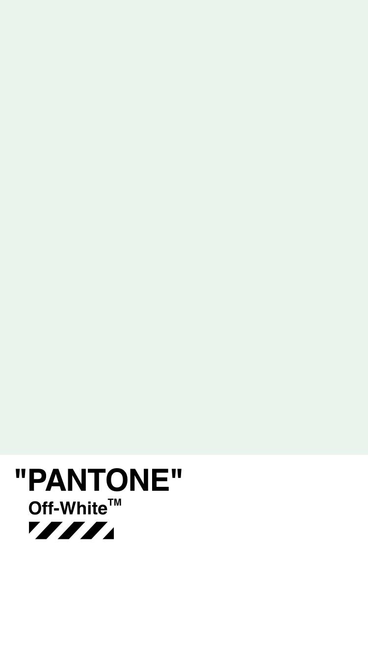 Off WhiteTMWALLPAPER IPHONE 18 4 PANTONE PLAIN OFFWHITE
